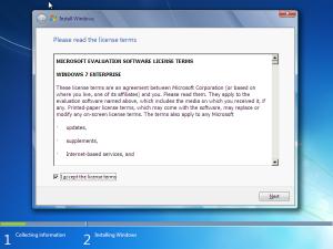 windows 7 feltetelek elfogadasa