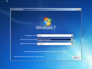 windows 7 nyelv valasztas