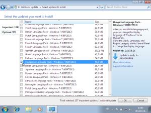 windows 7 magyarositas kivalasztasa