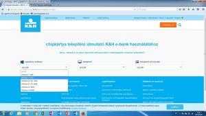 e-bank telepítés